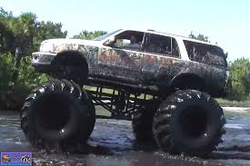 monster truck in mud videos 5a or bust monster trucks wiki fandom powered by wikia