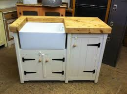 free standing kitchen sink cabinet handmade freestanding rustic country farmhouse butler