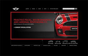 web page design 101 spectacular cars website designs monsterpost