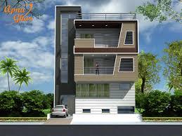 Home Front Design Apartments House Design Building Best Triplex House Design