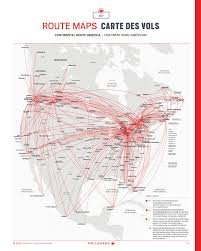 Air Canada Route Map by Air Canada Enroute U2014 October Octobre 2016 By Spafax Issuu
