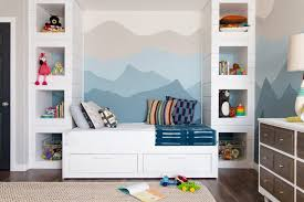 bedroom hemnes daybed nursery kids transitional with modern