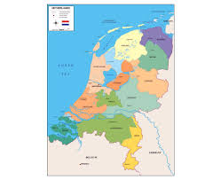 Amsterdam Map Europe by Maps Of Netherlands Detailed Map Of Netherlands Holland In