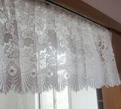 Black Lace Valance Best 25 White Lace Curtains Ideas On Pinterest Lace Curtains