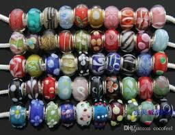 bracelet pandora murano images Murano glass beads charms for pandora bracelet mix colors jpg