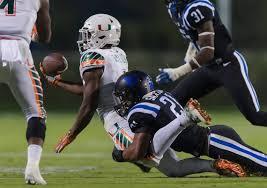 duke blue devils vs miami hurricanes football eight lateral