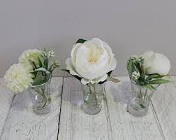 Faux Flower Arrangements Flower Arrangements Etsy