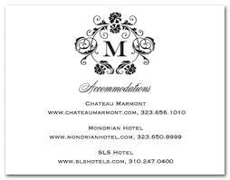 Wedding Reception Card Wording Baroque Frame Accomodation Cards Wedding Response Cards 15826
