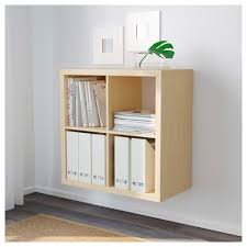 kallax shelf unit birch effect ikea