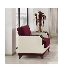 Burgundy Living Room Set 3 Pc Living Room Set By Almira Collection Burgundy Us