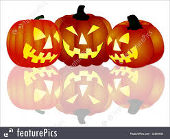halloween pumpkins background halloween pumpkins on white background