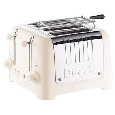 Dualit 4 Toaster Buy Dualit Lite 4 Slice Toaster With Warming Rack John Lewis