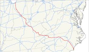 Map Of Tennessee With Cities by U S Route 421 Wikipedia
