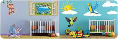 sticker pour chambre bébé stickers animaux pour chambre bébé et enfants décoration bébé