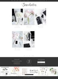 38 best hello you designs feminine wordpress themes images on