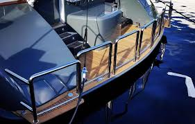 Stainless Steel Boat Handrails Custom Made Stainless Steel Rails For Boats Engineered Yacht