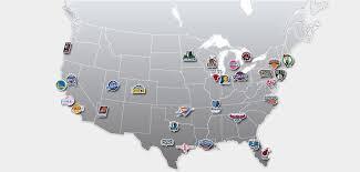 map of nba teams nba team arenas lafs in the bay