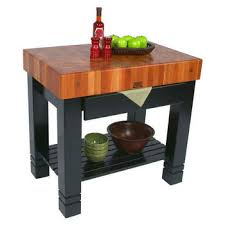 john boos butcher solid wood work tables and islands