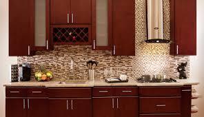 wainscoting kitchen backsplash cabinet cherry cabinets design noticeable cherry kitchen