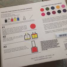 palette london create your own nail paint collection u2014 the world