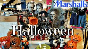 halloween decorations dollar store shop with me at marshalls new halloween decor 2017 youtube