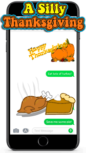 a silly thanksgiving on the app store
