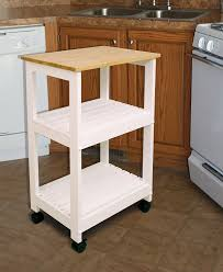 Butcher Block Microwave Cart Amazon Com Catskill Craftsmen Utility Kitchen Cart Microwave