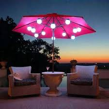Battery Powered Patio Lights Modern Patio Umbrella Lights Battery Operated Begreenhome