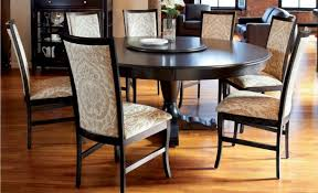 Chair Enchanting Black Round Dining Table Agrandmaslove Com Sets - Black round dining room table