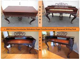 Repurposed Furniture Before And After by Writing Desk Old Things Anew
