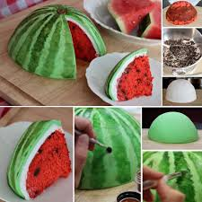Watermelon Cake Decorating Ideas 295 Best Cake Decorating Images On Pinterest Cakes Birthday