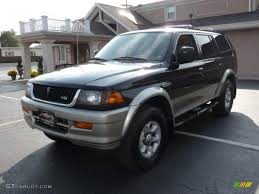 1997 mitsubishi montero sport information and photos zombiedrive