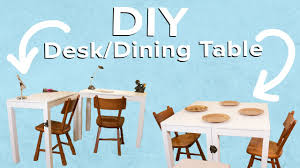 desk dining table convertible convertible desk dining table youtube