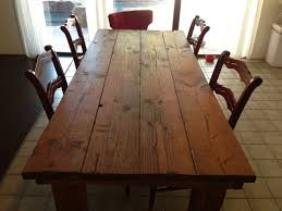 hand crafted kitchen tables hand crafted rustic farmhouse dining table by kalani alii wood with