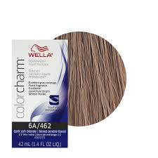 wella color charm 6a dark ash blonde professional permanent hair