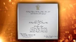 royal wedding invitation look at the royal wedding invitations kxly