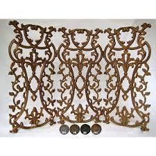 Fireplace Metal Screen by Classic Provence Metal Fireplace And Decorative Screen Free