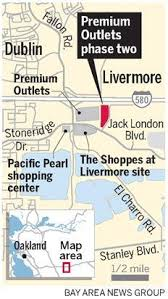 livermore outlets map state s largest outlet mall taking shape in livermore east bay times