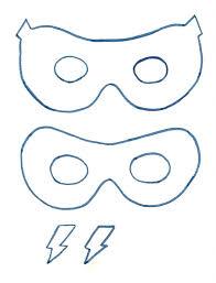 superhero mask template family pinterest mask template