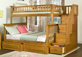 Bunk Bed With Stairs And Drawers Design Bedroom Ideas - Wooden bunk beds with drawers