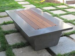 Custom Gas Fire Pits - concrete fire pit patio craftsman with maysun wells custom