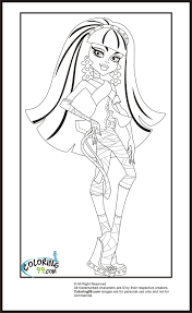 monster high cleo coloring pages getcoloringpages com