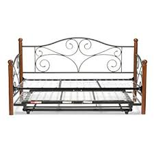 amazon com doral complete metal daybed with link spring and