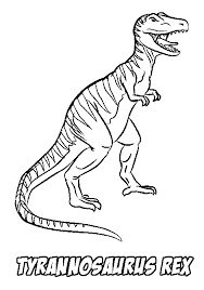 rex coloring pages free coloringstar