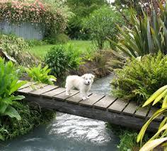 backyard bridges garden bridges