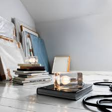 top3 by design design house stockholm block lamp white