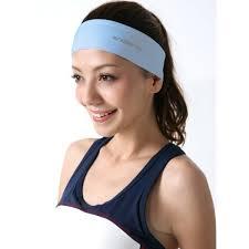 thick headbands slip sports headband