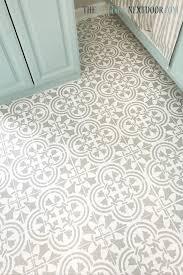 how to paint linoleum floors the door