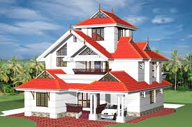 fresh 3d views of kerala style home plans indian home design
