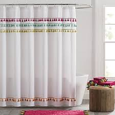Large Drapery Tassels Tassels Shower Curtain Bed Bath U0026 Beyond